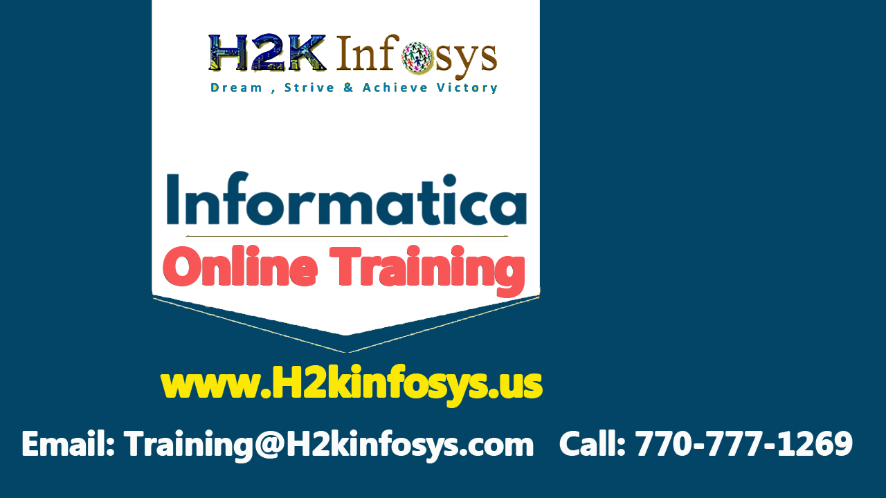Informatica Training Classes and Placement Assista