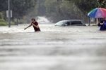 Harvey Breaks Rainfall Records, Houston Imposes Curfew