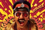 Ranveer Singh's look from Simmba
