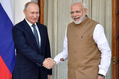 Vladimir Putin Sends Good Wishes to Modi for Elections 2019