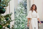 White House Christmas Decorations Under Tweet-Attacks
