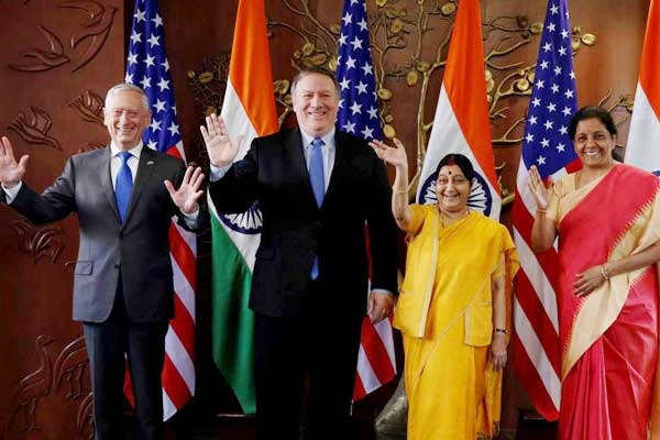 2+2 Dialogue 'Defining Moment' for Indo-U.S. Relations: Mattis